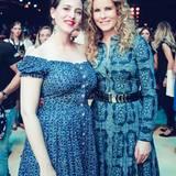 Designerin Lena Hoschek und Moderatorin Katja Burkard