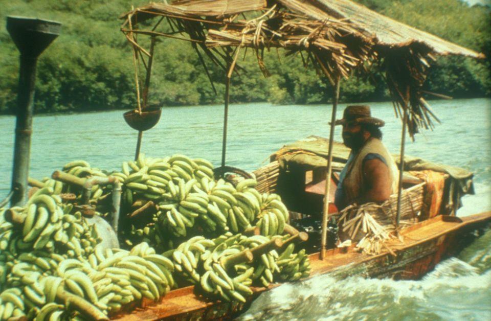 "1981  Ein Hingucker: Bud Spencer spielt ""Banana Joe""."