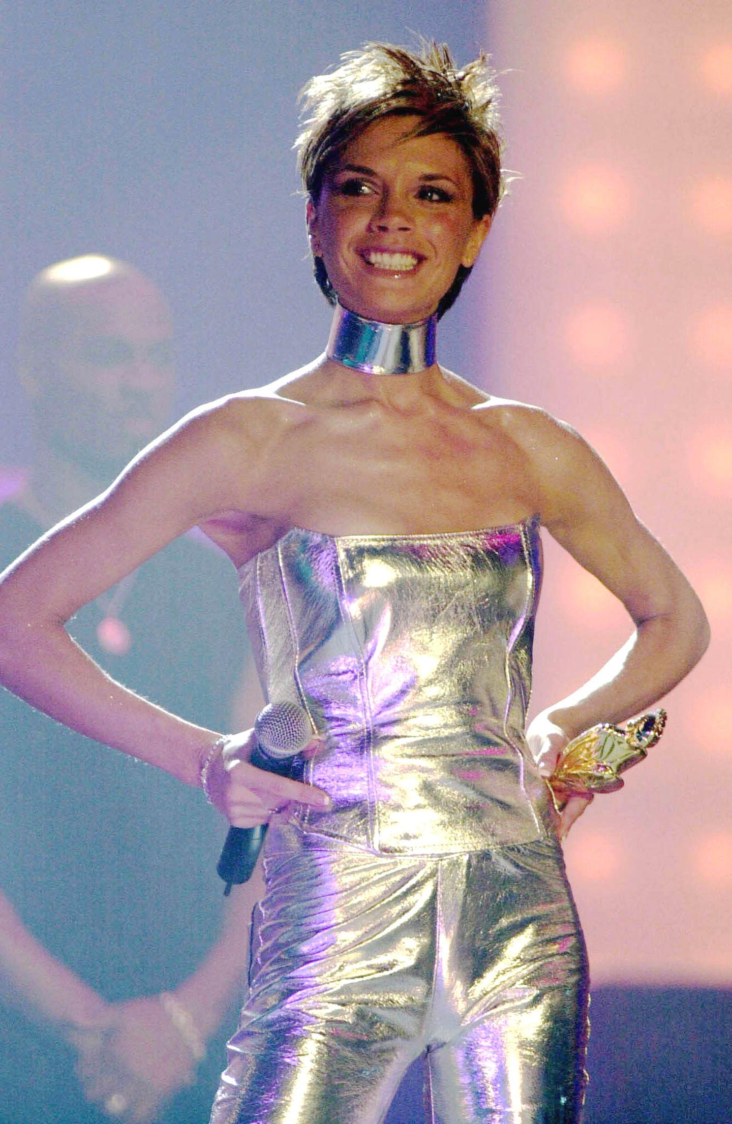"""Victoria Beckham wuirde als """"Posh Spice"""" bekannt."""