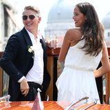 2016: Bastian Schweinsteiger und Ana Ivanovic   Sie heirateten im traumhaften Venedig, inklusive romantischer Bootsfahrt.