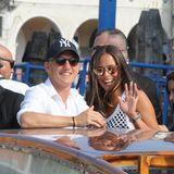 Bastian Schweinsteiger und Ana Ivanovic? sind zusammen in Venedig eingetroffen. In lässigen Outfits zeigt sich das strahlende Paar in einem Wassertaxi.