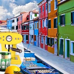 Insel Burano, Lagune von Venedig