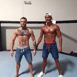 Sein Sparring Partner: Cristiano Ronaldo kann Conor McGregor zu seinen Freunden zählen. Der irische MMA-Kämpfer ist amtierender UFC Federgewicht Champion.