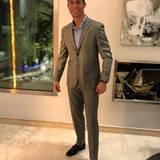 Sein Anzug: Das Ausnahmetalent trägt natürlich nichts von der Stange. Dieser Anzug sieht Maßgeschneidert aus.