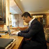 Sein Büro: Auch ein Cristiano Ronaldo betreut seine Socialmedia-Accounts ganz persönlich.