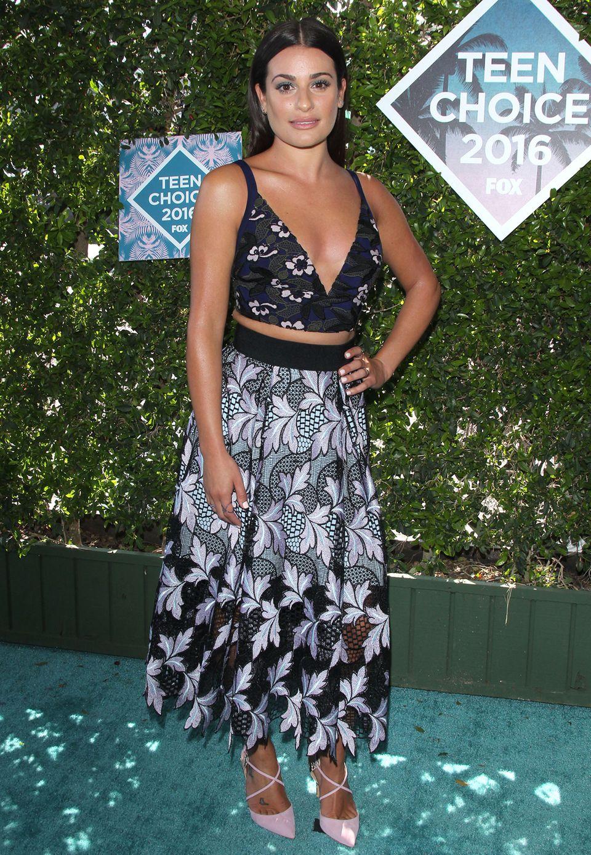 Schauspielerin und Sängerin Lea Michele