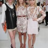 US-Botschaftergattin Kimberley Marteau Emerson mit Cathy Hummels und Bloggerin Caro Daur beim alljährlichen Fashion Brunch