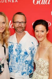 GALA-Chefredakteurin Anne Meyer-Minnemann mit Marcus Luft (stellv. Chefredakteur) und Doris Brückner (stellv. Chefredakteurin GALA und Redaktionsleitung Gala.de).