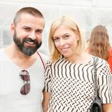 Andreas Haumesser (Andreas Haumesser PR) mit Verena Schellenberg (TAG Heuer)