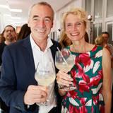 Thomas Wirz und Ehefrau Kathrin (Pommery) feierten seinen Geburtstag – na klar - mit einem Glas Champagner.