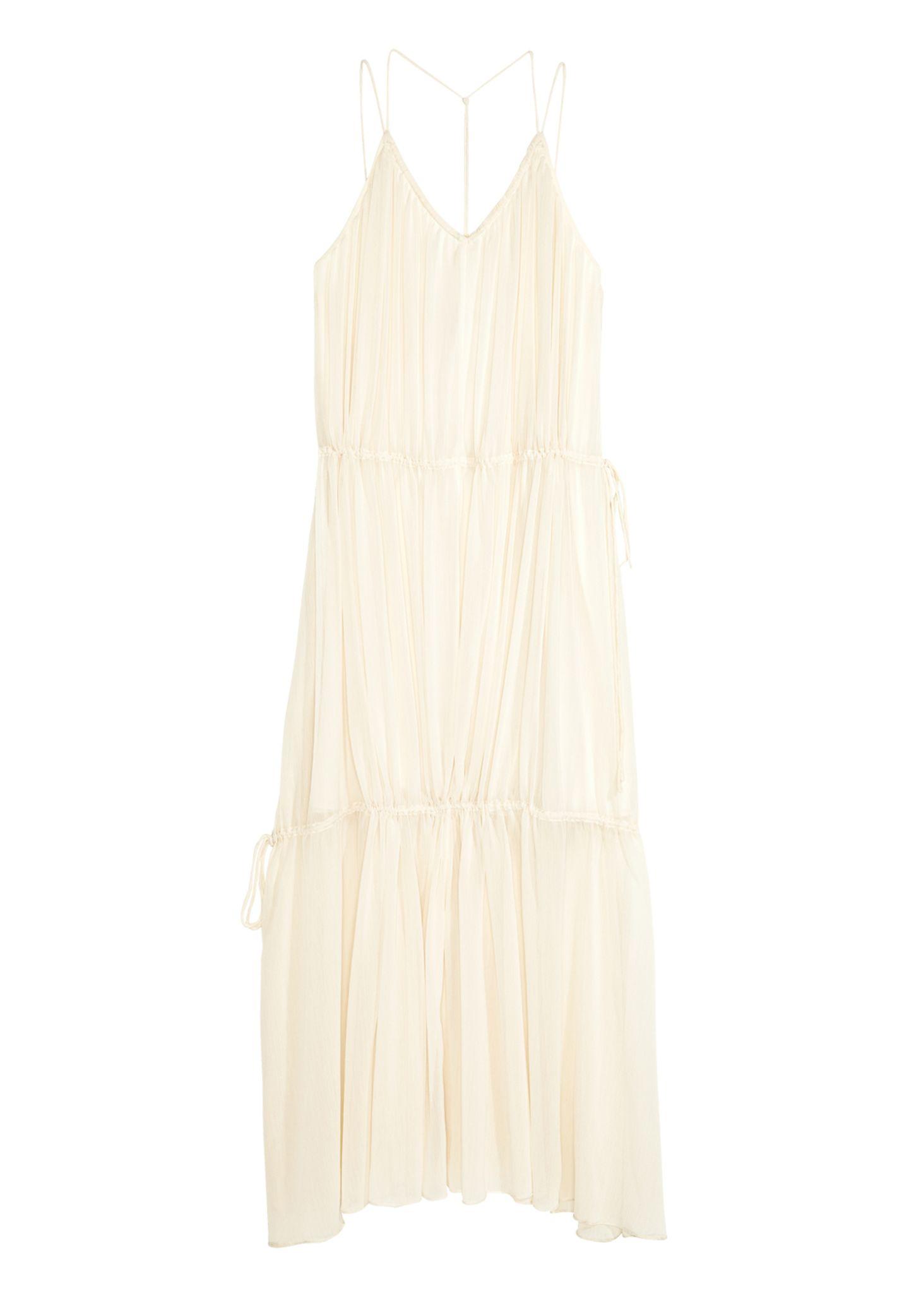 Maximal sexy: bodenlanges Sommerkleid von H&M, ca. 50 Euro