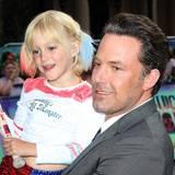 Ben Affleck mit einem kleinen Fan