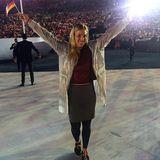 """""""Ich werde dieses Gefühl niemals vergessen"""", schreibt Angelique Kerber über die Eröffnungszeremonie. Die Tennisspielerin ist stolz, Teil des deutschen Teams zu sein."""