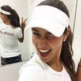 Tennisstar und Ehefrau von Bastian Schweinsteiger Ana Ivanovic ist heiß auf Olympia in Rio. Lasst die Spiele beginnen!