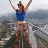 Bloggerin Caro Daur genießt die spektakuläre Aussicht in Rio: Die gute Freundin von Model Stefanie Giesinger freut sich ebenfalls auf die Olympischen Spiele in Rio.