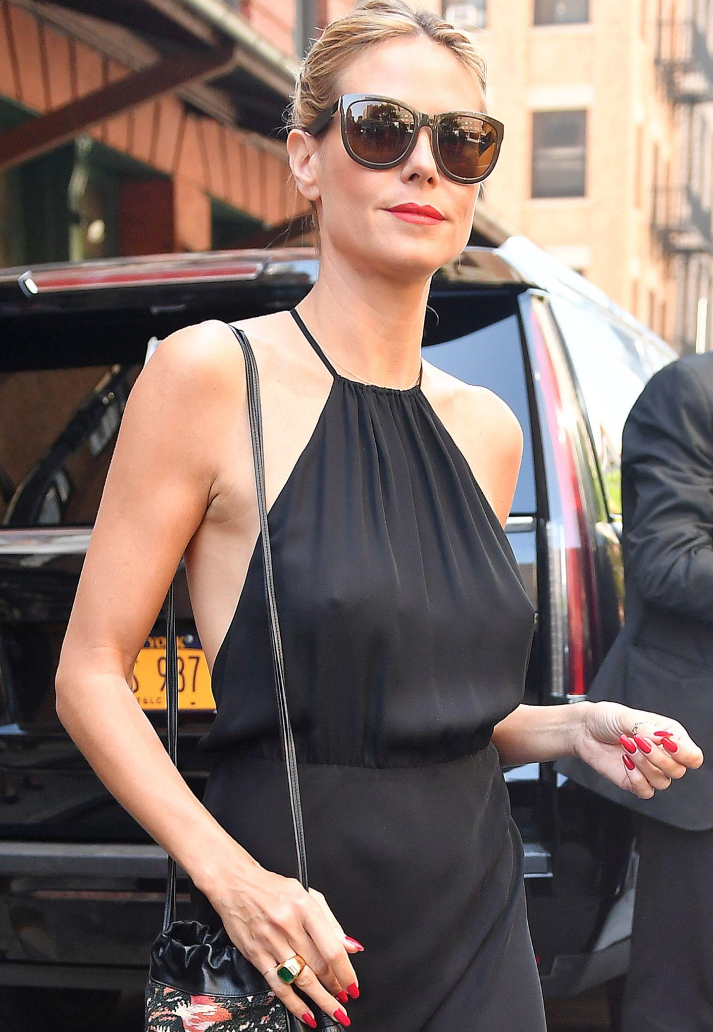 Heidi Klum: Sexy Busen-Blitzer in New York | GALA.de