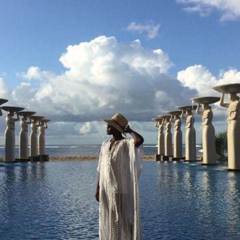 Lupita Nyong'o macht auf Bali Urlaub.