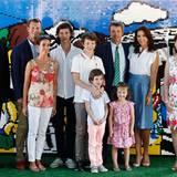2. August 2016  Familienzusammenkunft in Rio: Prinz Frederik und Ehefrau Mary treffen dort auf Prinz Joachim und dessen Frau Marie samt der Kinder Nicolai, Felix, Henrik und Athena. Gemeinsam eröffnen sie den dänischen Pavillon.
