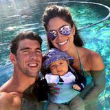 Michael Phelps: Boomer Phelps ist der ganze Stolz von Schwimm-Star Michael Phelps und seiner Ehefrau Nicole Johnson.