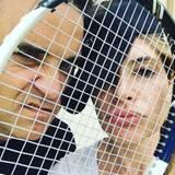 September 2016   Eine Runde Tennis? Robbie Williams und seine Frau Ayda field wären soweit.