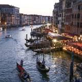 Venedig präsentiert sich dem filmbegeisterten Publikum von seiner schönsten Seite.