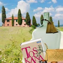 Sehnsuchtslandschaft in der Provinz Siena
