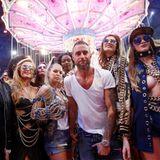 Riesenrummel in Mailand! Die Show von Phillip Plein ist ein besonders buntes Highlight der Fashion-Week