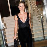 """Wow! Michelle Hunziker lässt bei der """"Vogue Fashion Night Out"""" tief blicken."""