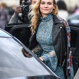 Hollywood-Beauty Diane Kruger besucht die Show von Elie Saab.