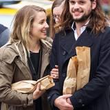 Dianna Agron und ihr Verlobter Winston Marshall (Mumford & Sons) sind ein ziemlich lässiges Independent-Paar.
