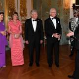 Tag 2  König Carl Gustaf und Königin Silvia sind wieder zurück in Berlin: Die schwedischen Royals sind zum Retourdinner auf Schloss Charlottenburg eingeladen.