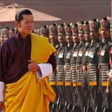 König Jigme Singye Wangchuckbestieg 2006 den Thron des Himalaya-Staates Bhutan.