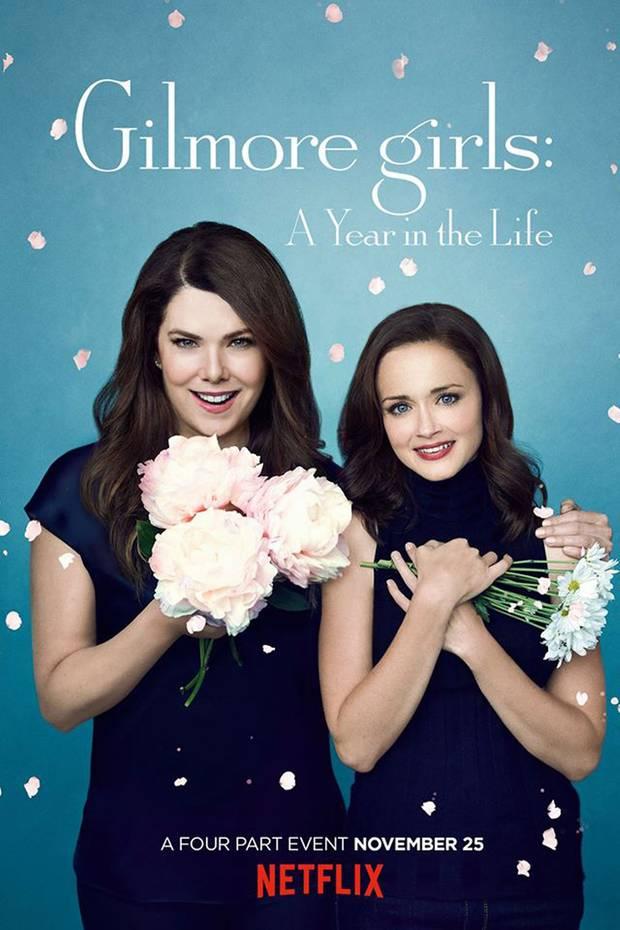 Ein Blütenregen auf dem Frühlingsplakat - dürfen sich Fans etwa über die Hochzeit von Lorelai oder sogar Rory freuen?