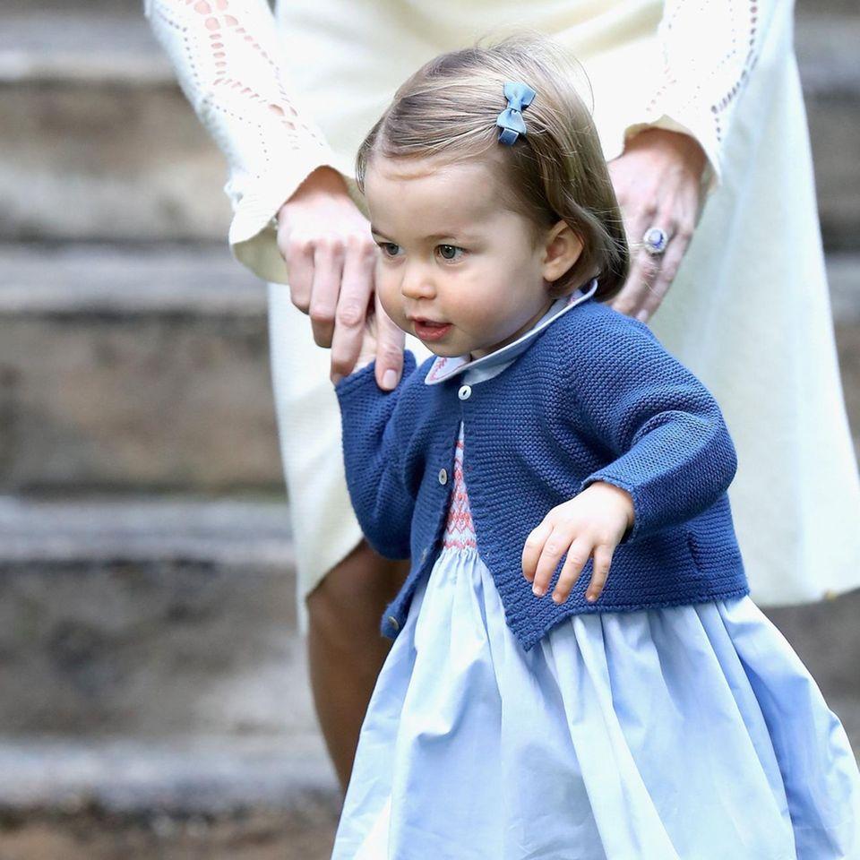 Tag 6  Prinzessin Charlotte auf Erkundungstour in Kanada.