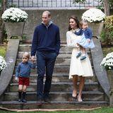 Prinz William, Herzogin Catherine, Prinz George und Prinzessin Charlotte bei ihrem offiziellen Besuch in Kanada: Die zauberhafte Familie besucht eine Kinderfeier.