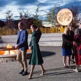 Tag 4  Kultureller Auftritt im Kwanlin Dün Cultural Centre: Prinz William und Herzogin Catherine gönnen sich etwas Kultur in Whitehorse, Kanada.