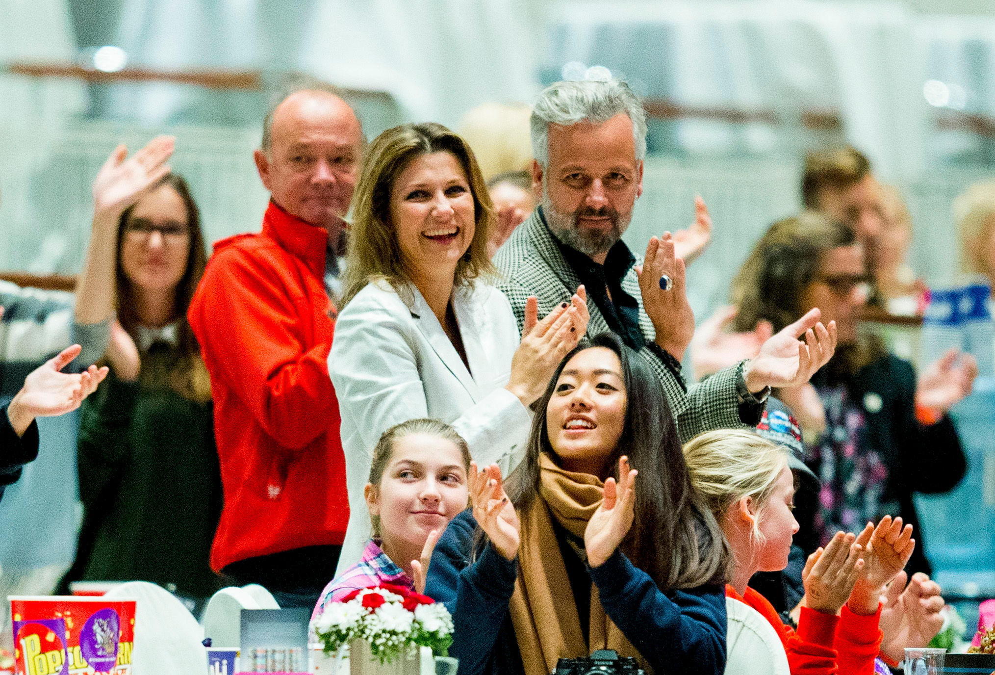 Ari Behn und Prinzessin Märtha Louise Mitte Oktober beim Reitturnier: In Gegenwart der Töchter seien sie nett zueinander, sagt der Autor.