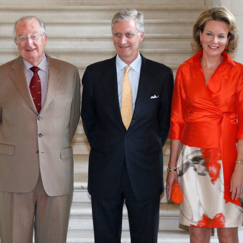 Thronwechsel Belgien: Königin Paola, König Albert, Prinz Philippe, Prinzessin Mathilde