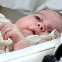 Prinzessin Charlotte bei der Taufe