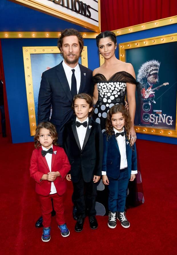 Familie McConaughey-Alves: Camila, Matt und ihre Mini ...
