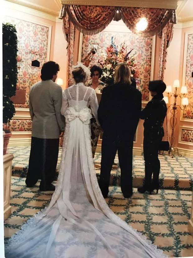 Carmen Geiss Hochzeitskleid