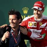 Der ehemalige Formel-1-Weltmeister Mark Webber hat sich zwar schon zur Ruhe gesetzt, gehört aber immer noch zu den attraktivsten Charakteren der Motorsportwelt. Ebenso wie Ferrari-Pilot Sebastian Vettel, aber der ist ja sowieso auch längst vom Markt.