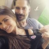 """""""Wir haben es getan!"""": Sofía Vergara und ihr Liebster Joe Manganiello haben gewählt."""