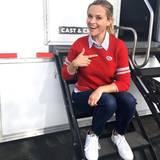 Reese Witherspoon zeigt stolz an, dass sie schon wählen war.
