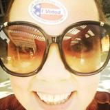 """""""Jippie! Ich hab gewählt!"""" Melissa McCarthy ist in Partystimmung."""