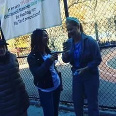 Amy Schumer ermuntert ihre Fans, sich nicht von den Warteschlangen abschrecken zu lassen.
