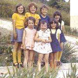 Ein weiteres Foto aus Kindertagen: In der vorderen Reihe rechts steht die neue First Lady. Wer hätte damals ahnen können, dass dieses süße Mädchen einen Immobilienmagnaten und späteren US-Präsidenten heiraten würde?