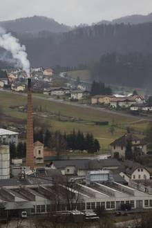 Das verschlafene Städtchen Sevnica mit seinen ewig qualmenden Industrieschornsteinen war einst die Heimat von Donald Trumps glamouröser Model-Ehefrau Melania.