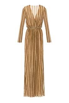 Großer Auftritt: Glamourrobe in Gold, von Elisabetta Franchi, ca. 1.190 Euro