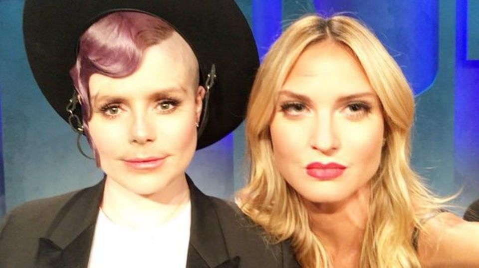 Jetzt wirds aber gruselig: Eine Kreuzung aus Kelly Osbourne und Heidi Klum könnte zur Massenhysterie führen.